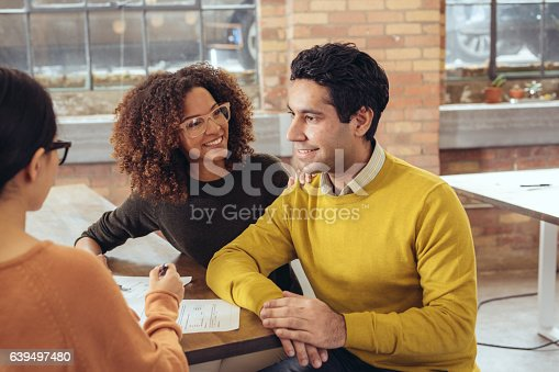 istock Applying for a mortgage 639497480