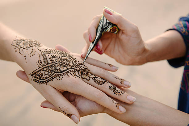 Mehndi Tattoo For Hand : Royalty free henna tattoo pictures images and stock photos istock