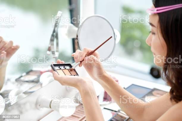 Applying makeup picture id803317982?b=1&k=6&m=803317982&s=612x612&h=nbmwizijaevcgpnrdoet3bp xjncsvjtg35ah00dz6g=