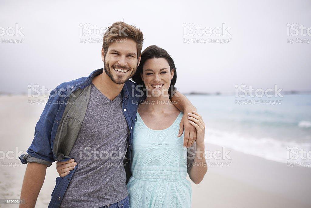Appreciating moments of love royalty-free stock photo