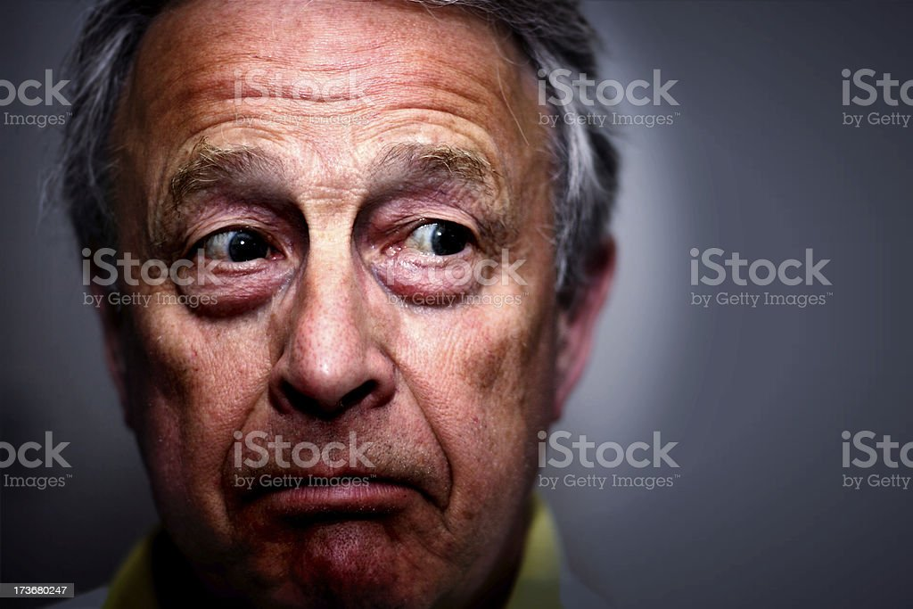 Apprehension royalty-free stock photo