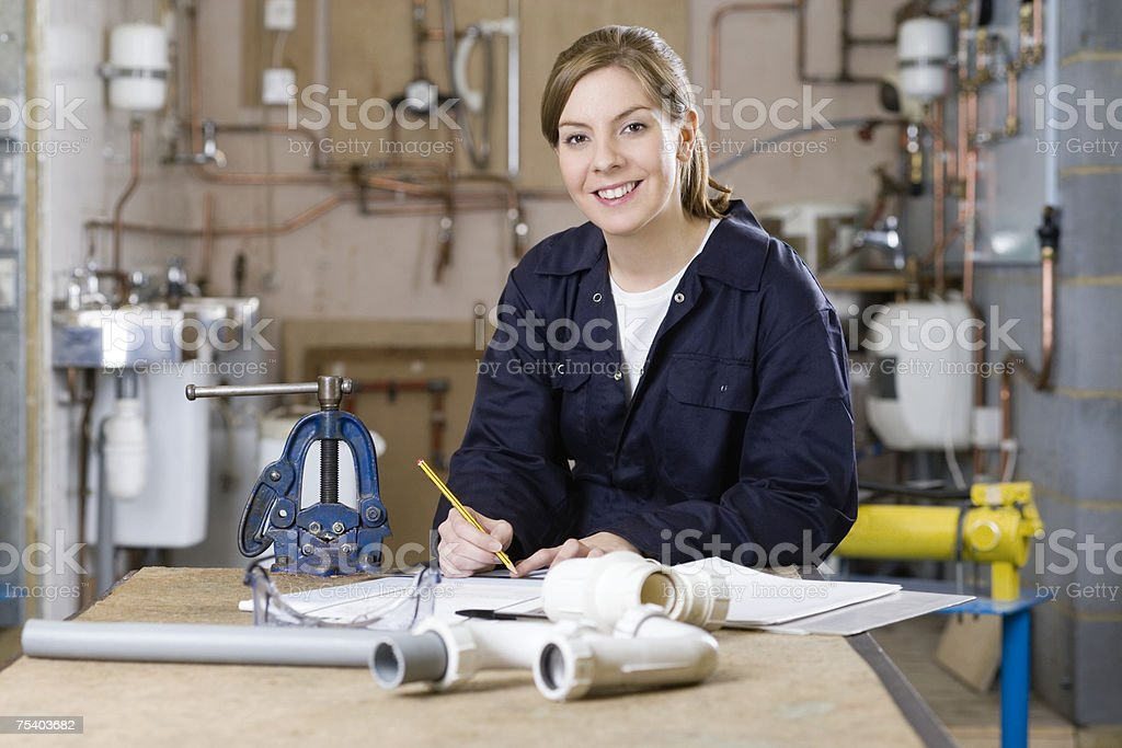 Lehrling Klempner – Foto