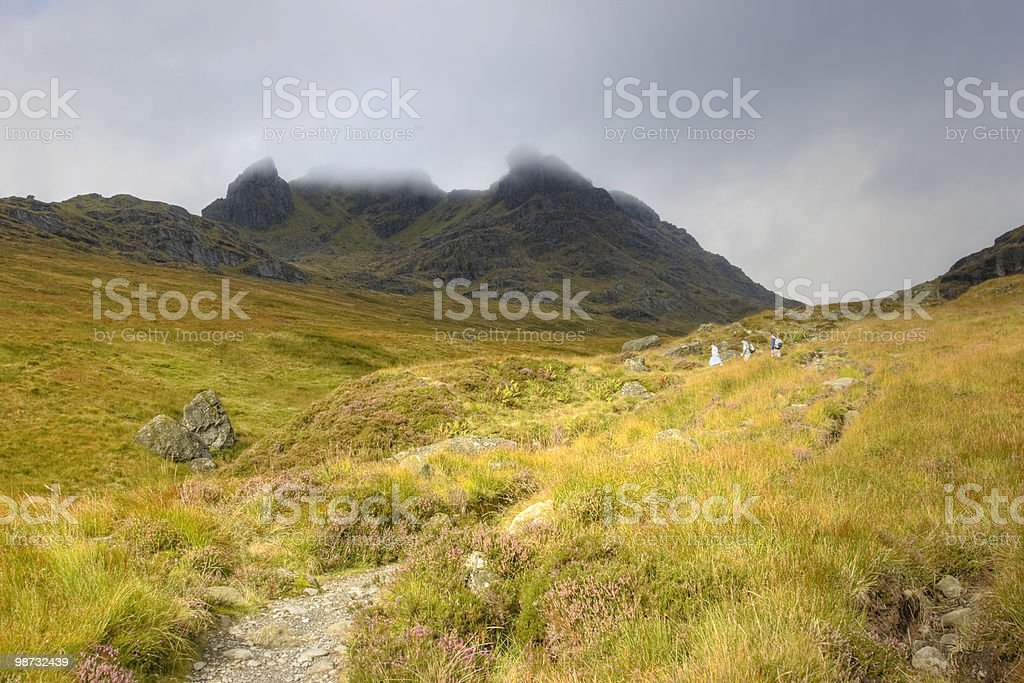 Approaching Ben Arthur royalty-free stock photo