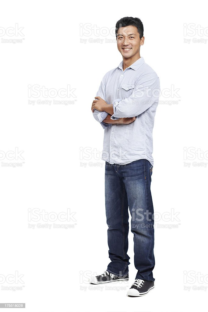 Approaching life with a great attitude is key stock photo