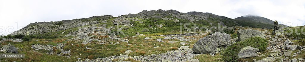 Approaching Mt. Adams from Edmand's Col (White Mountains, NH) stock photo