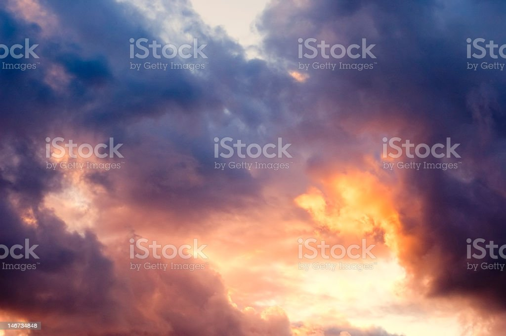 Approaching Storm #1 royalty-free stock photo