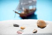 Barque, Ship, Wood - Material, Tall Ship, Sand, beach
