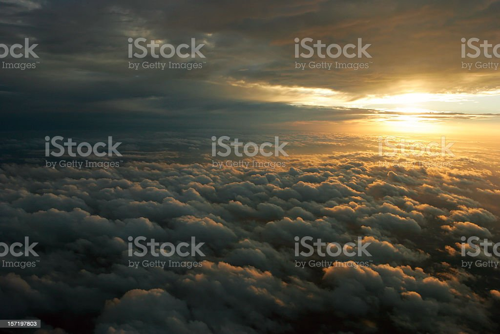 Approaching Winter Storm royalty-free stock photo