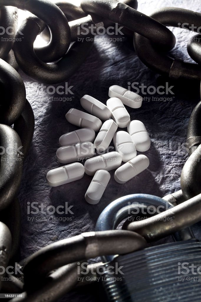FDA Approval. Addiction royalty-free stock photo