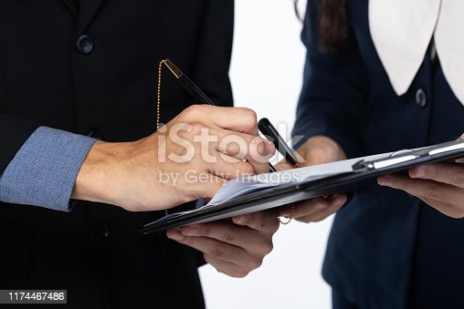 1007078074istockphoto approve concept for business, business success 1174467486