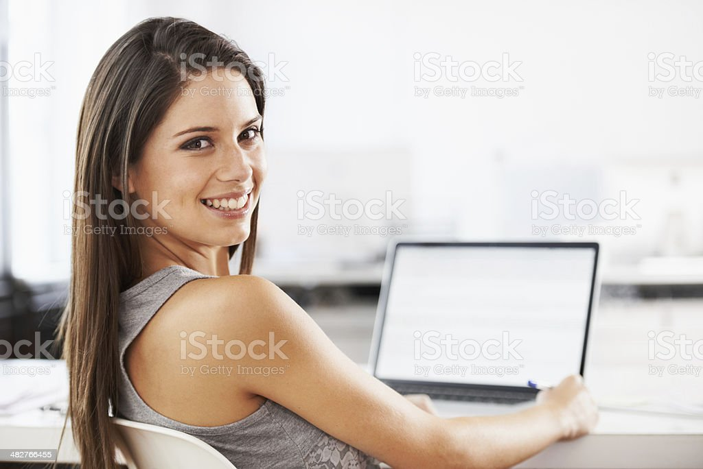 I approve of the internet royalty-free stock photo