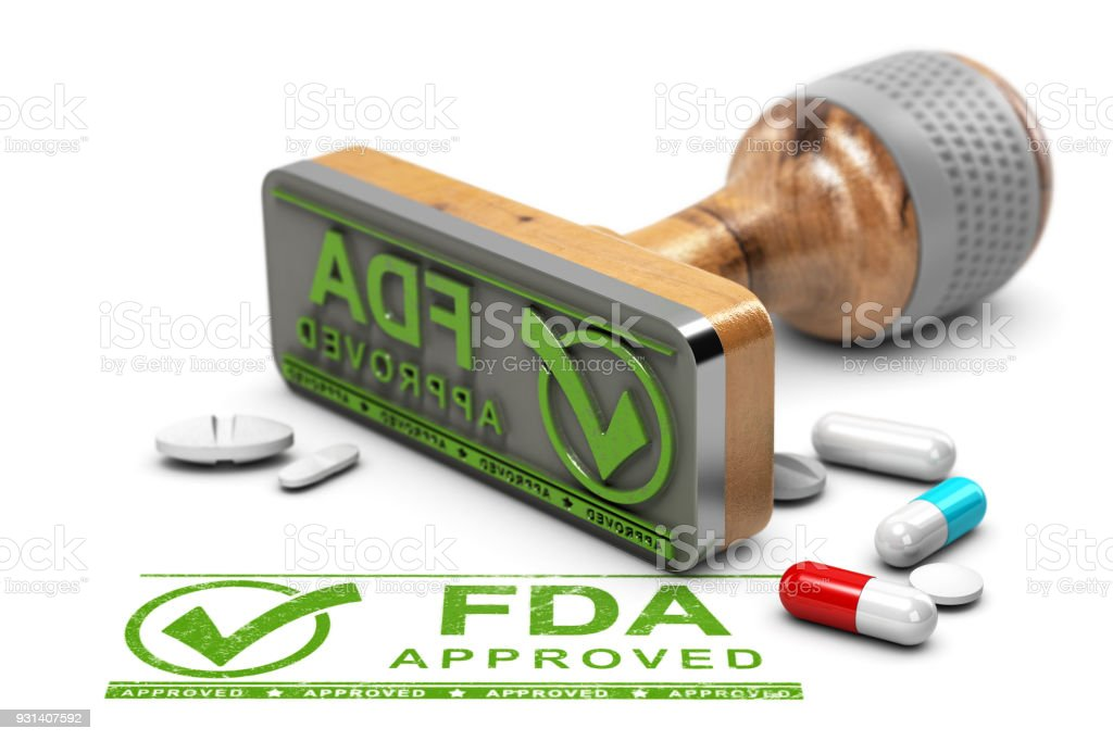 FDA Approved Drugs stock photo