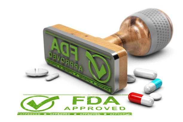 fda approved drugs - fda stock photos and pictures