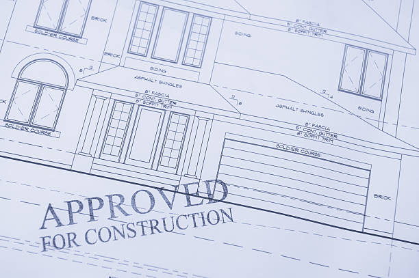 approved for construction - permit stock photos and pictures