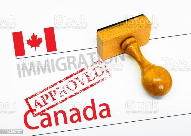 Approved immigration canada picture id1125360707?b=1&k=6&m=1125360707&s=612x612&h=wnjagulo1gxudtjl 9kufoyxu sj8jk owkx4pivuzi=