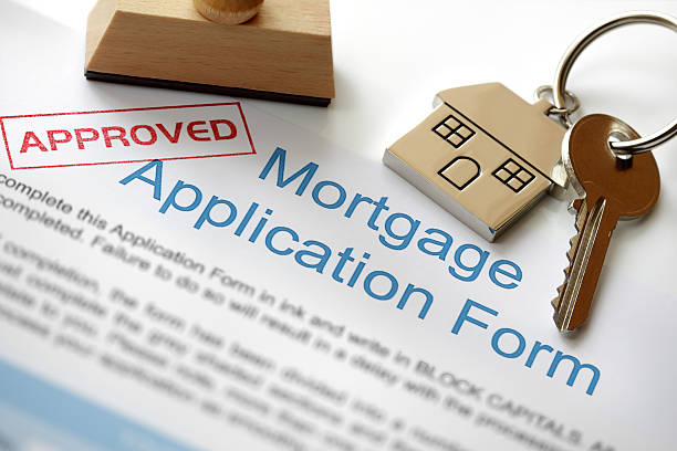 approved mortgage application - permit stock photos and pictures