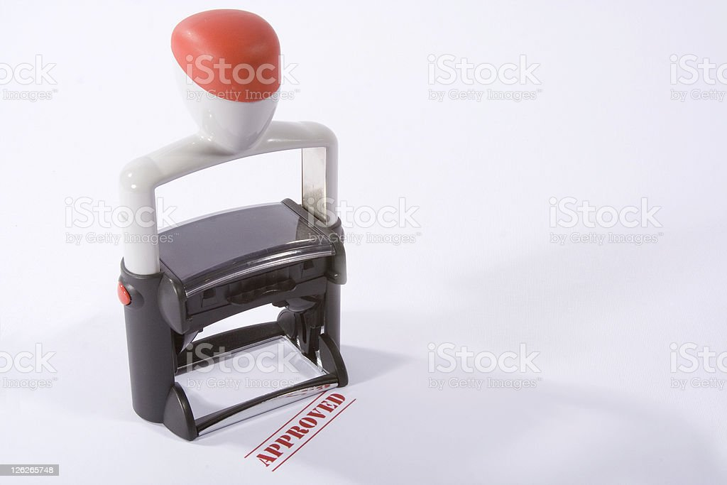Approved stock photo