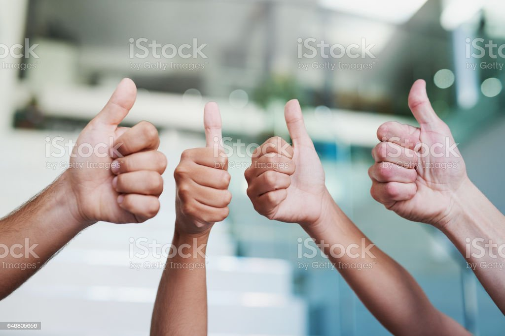 100% approved! stock photo