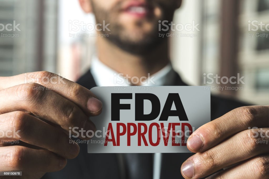 FDA Approved stock photo