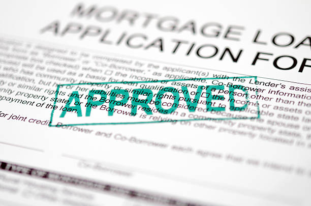 approved stapm - mortgages and loans stock pictures, royalty-free photos & images