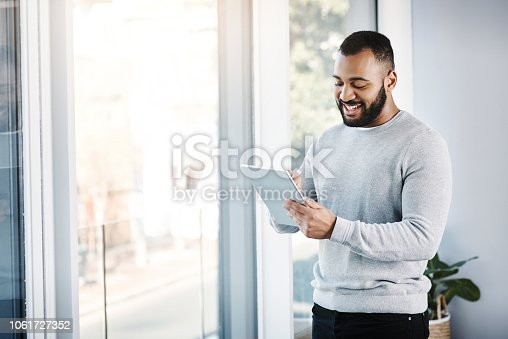 874813790 istock photo Apps that keep him performing at his best 1061727352