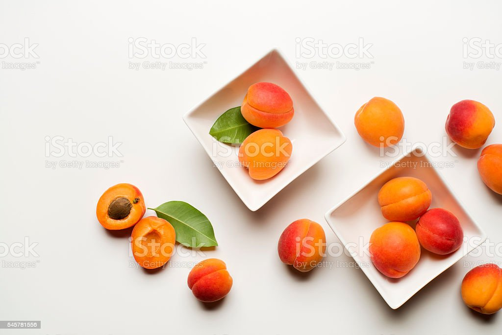 Abricot fruits frais  - Photo