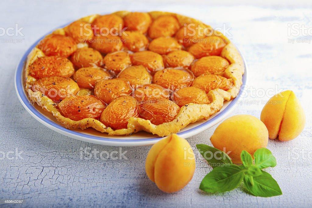 Apricot-Tart – Foto