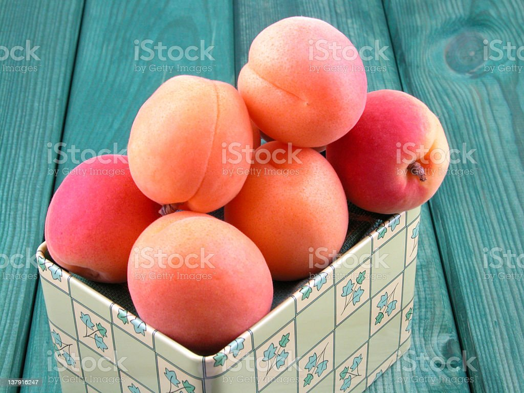 apricots royalty-free stock photo