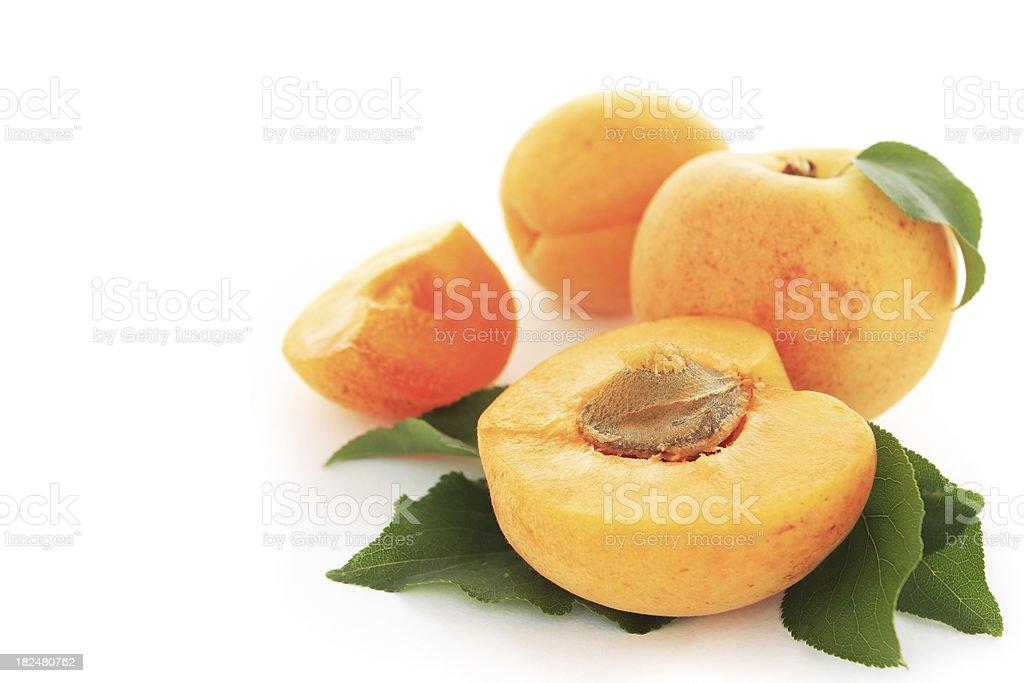 Apricots. royalty-free stock photo