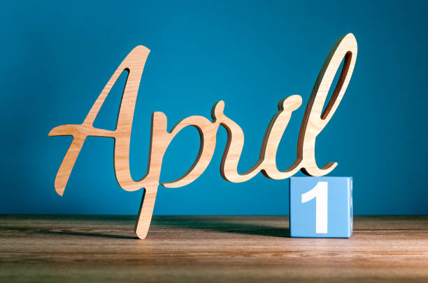 april 1st or april fool's day - april fools stock photos and pictures