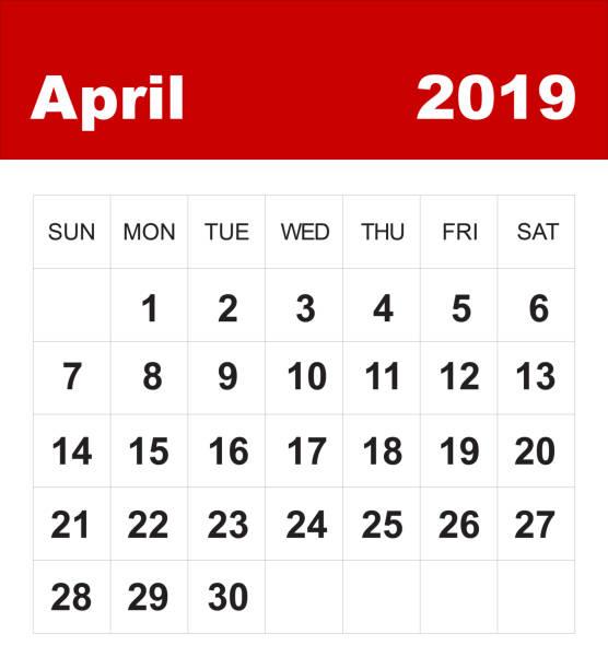 Kalender April 2019 – Foto