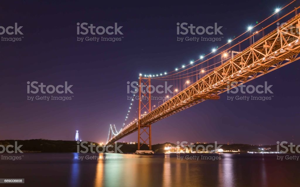 Ponte 25th de Abril - Lisbon stock photo
