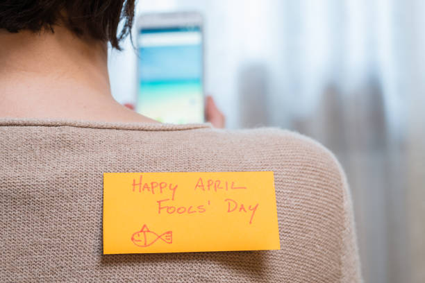 april fools day - april fools stock photos and pictures