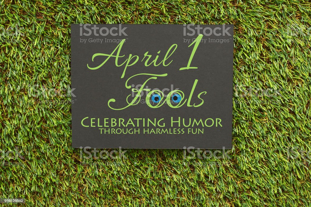 April Fools stock photo
