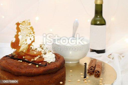 istock Aprioct Cake 1063758804