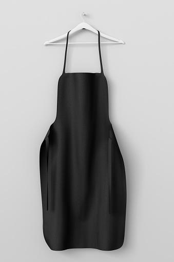 istock Apron, cooking clotch uniform mockup 669115256