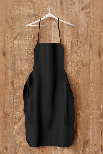 istock Apron, cooking clotch uniform mockup 669115356