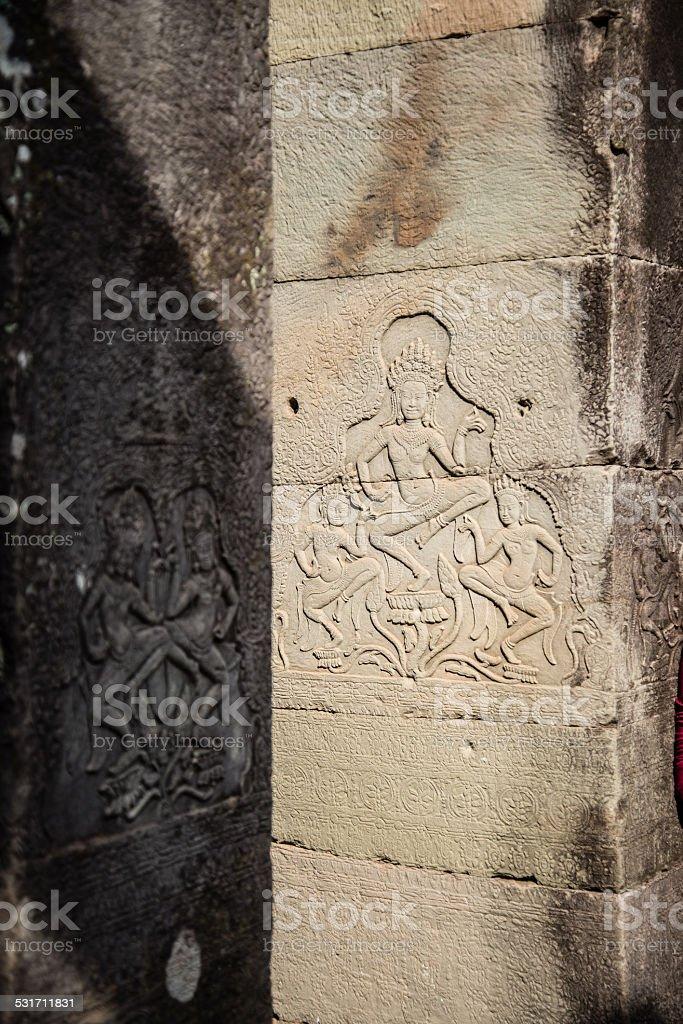 Apsara craft stock photo