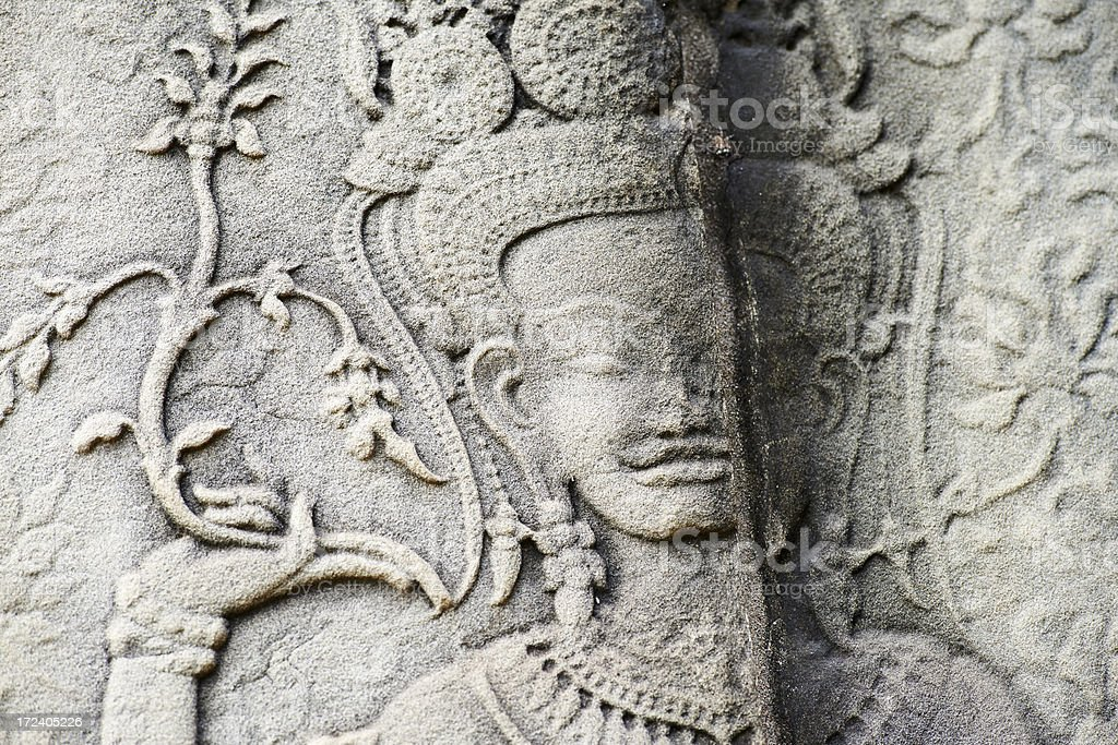 Apsara Dancer royalty-free stock photo