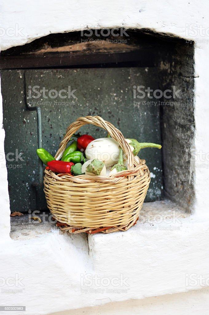 Apulian farm stock photo