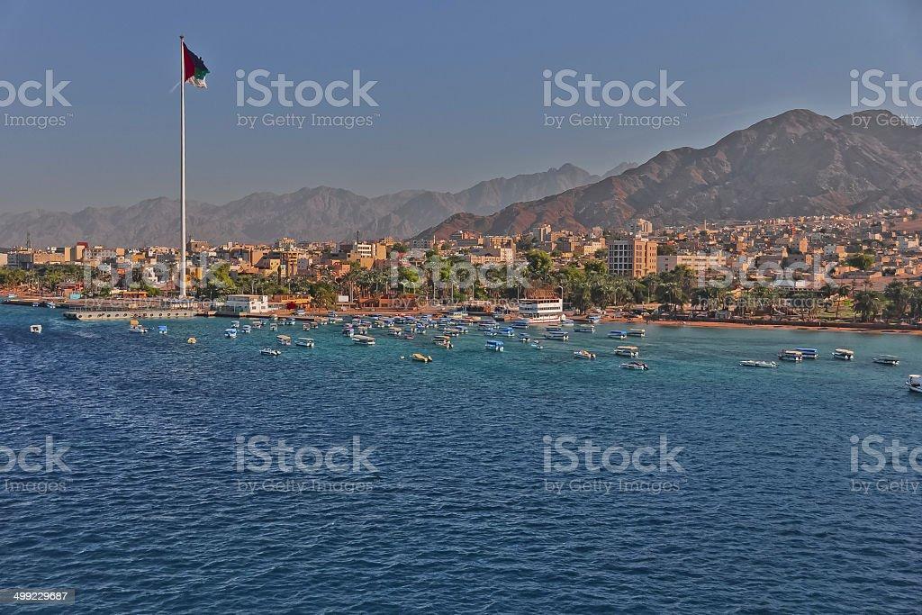 Aqaba Jordan stock photo