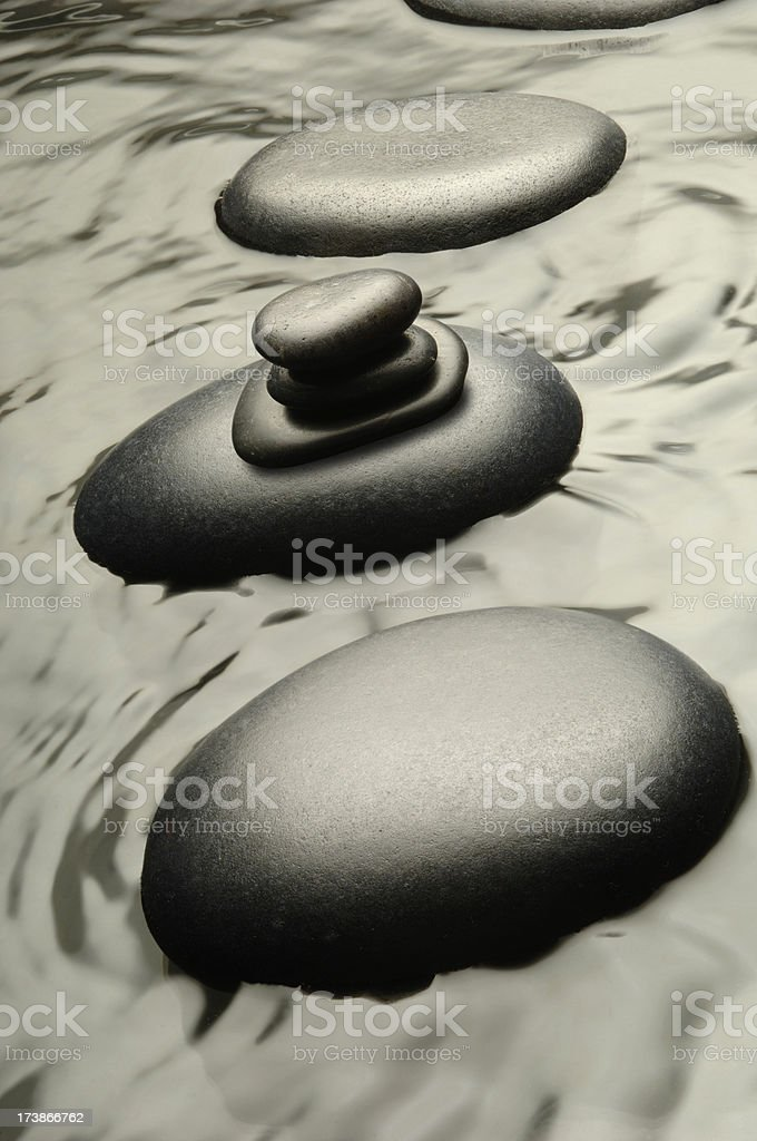 Aqua Balance royalty-free stock photo
