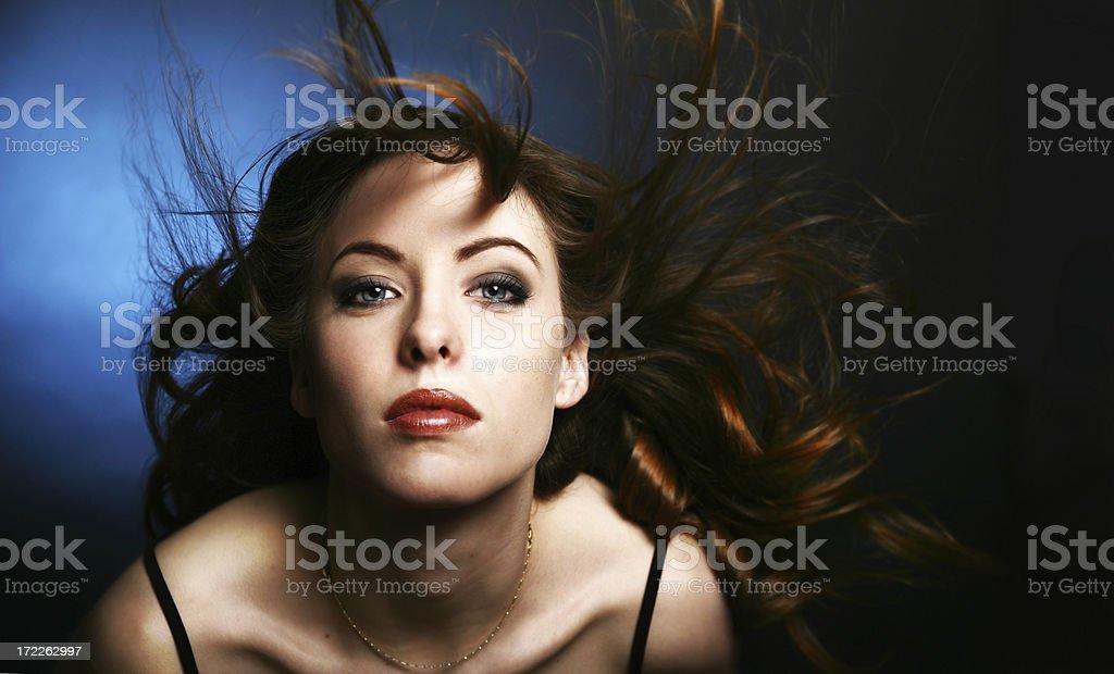 Aqua Beauty royalty-free stock photo