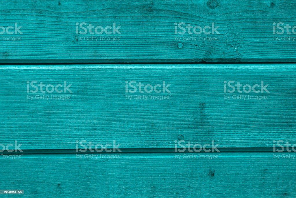 Aqua Farbe. Holzbretter - Holz Terrassendielen Fußböden und Holz-Deck mit getäfelten Wänden behandelt. Texturen und Muster aus Naturholz. Hintergrund für den Innenbereich Lizenzfreies stock-foto