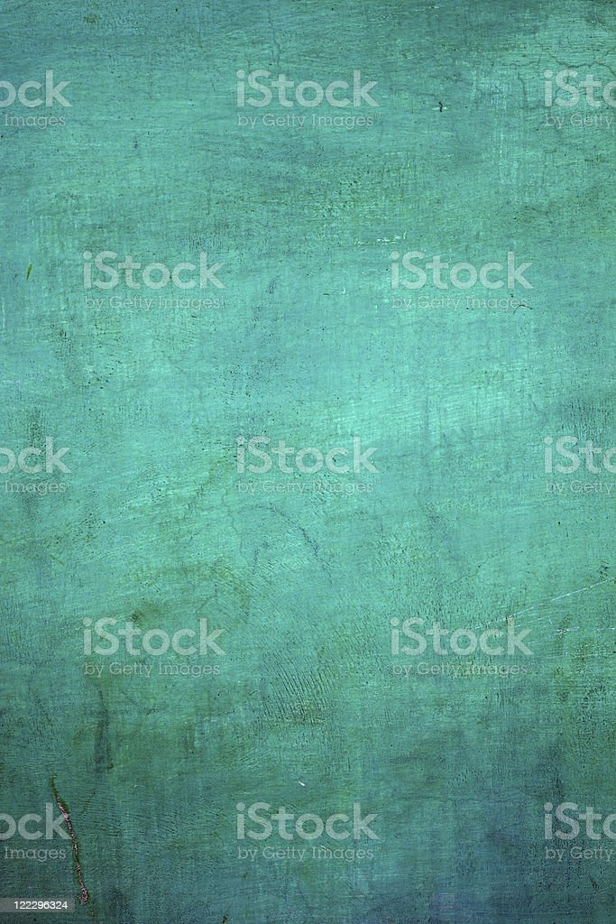 Aqua Colored Wall royalty-free stock photo