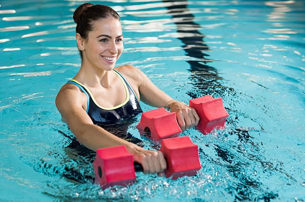 Aqua fitness - foto stock