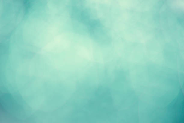 aqua mint green bokeh background - teal backgrounds stock photos and pictures