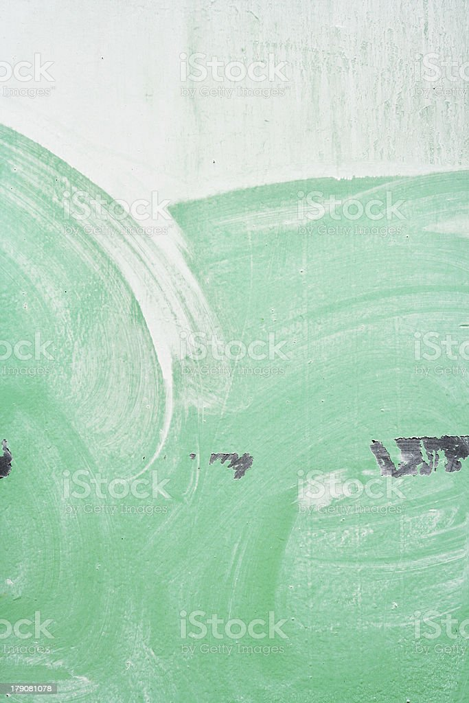 Aqua Paint Layer royalty-free stock photo