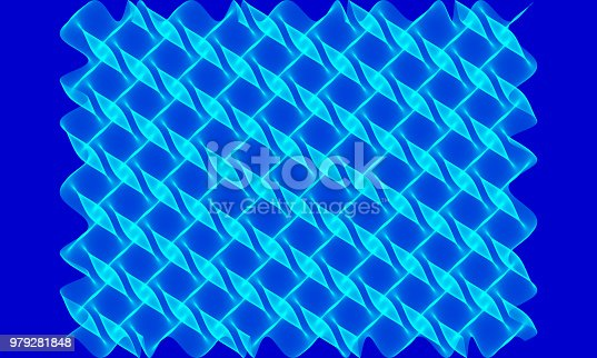 1161683825 istock photo aqua pattern on royal blue background 979281848