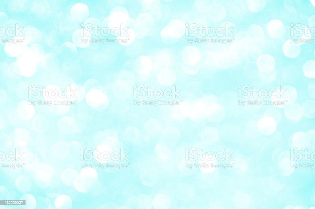 Aqua Sparkles royalty-free stock photo